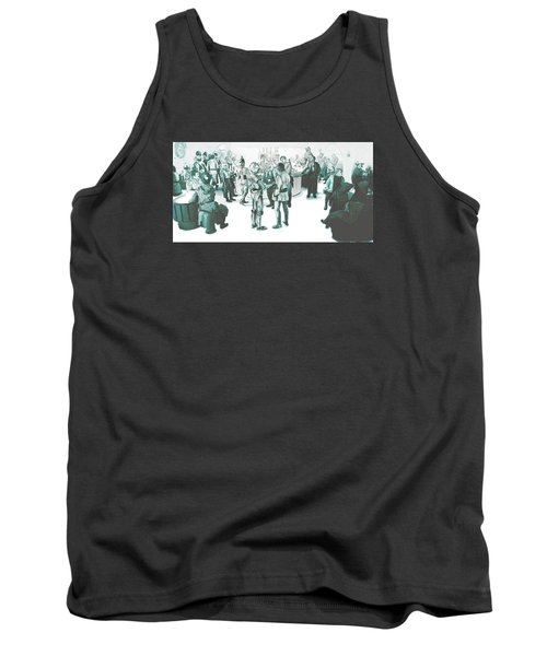 We Don't Serve Their Kind Here Tank Top by Kurt Ramschissel