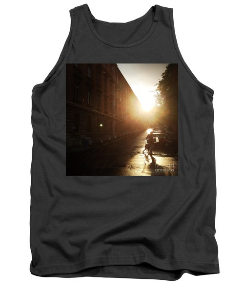 We Live In Budapest #11 Tank Top