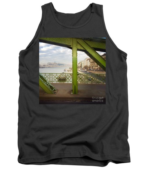 We Live In Budapest #4 Tank Top