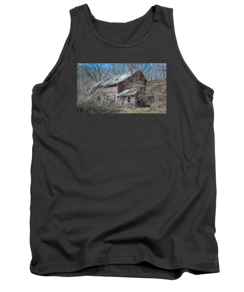 Tank Top featuring the photograph Weathered And Broken by Dan Traun