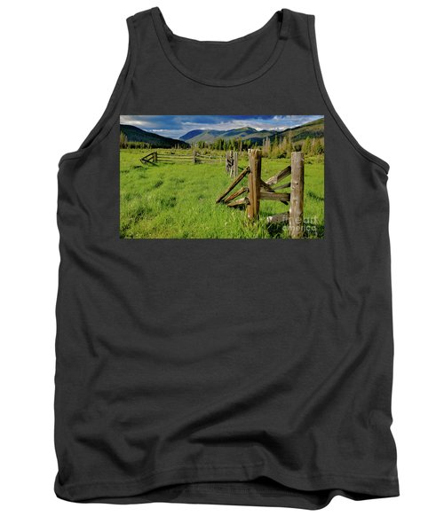Weathered But Standing Tank Top