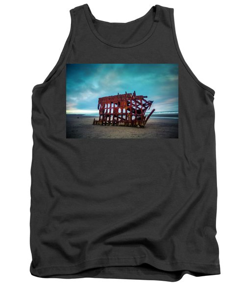 Weathered Rusting Shipwreck Tank Top