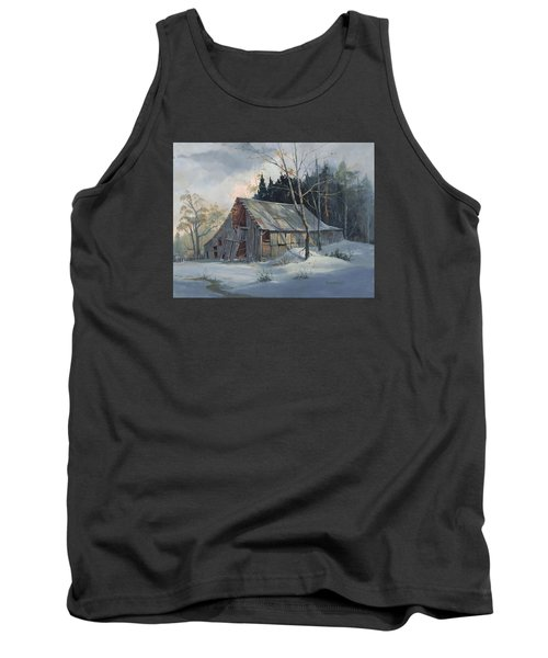 Weathered Sunrise Tank Top by Michael Humphries