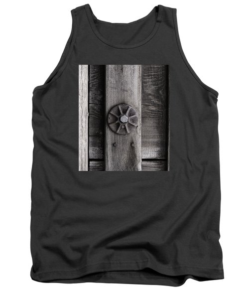 Tank Top featuring the photograph Weathered Wood And Metal Three by Kandy Hurley