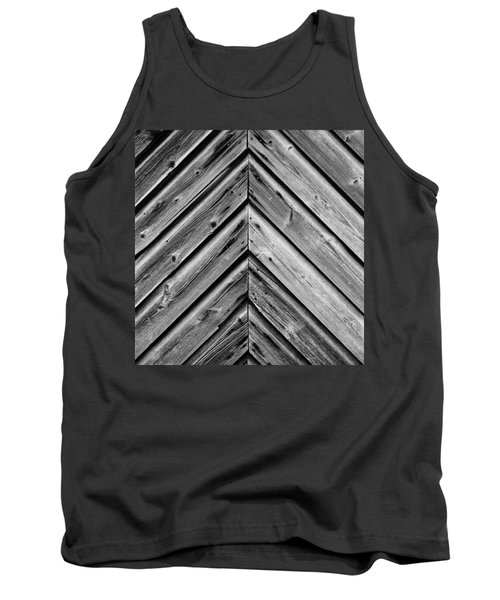 Tank Top featuring the photograph Weathered Wood by Larry Carr