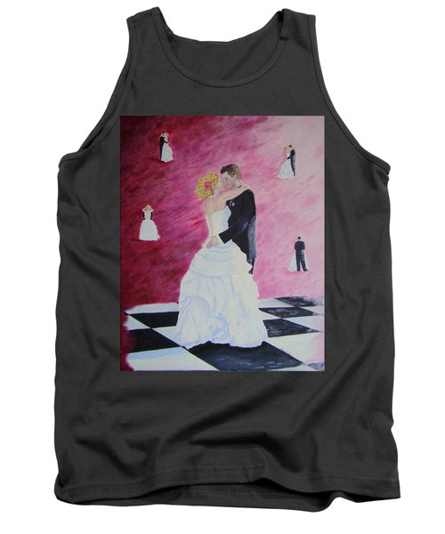 Wedding Dance Tank Top by Lisa Rose Musselwhite