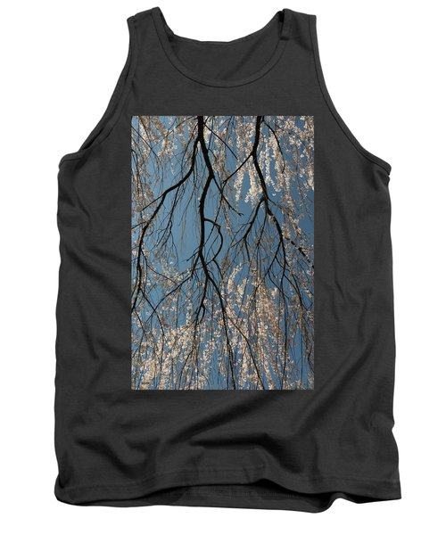 Weeping Cherry #2 Tank Top by Dana Sohr