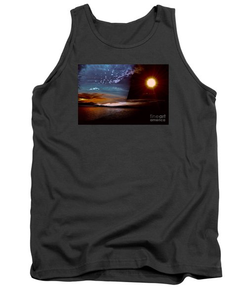 Welcome Beach 2015 2 Tank Top by Elaine Hunter