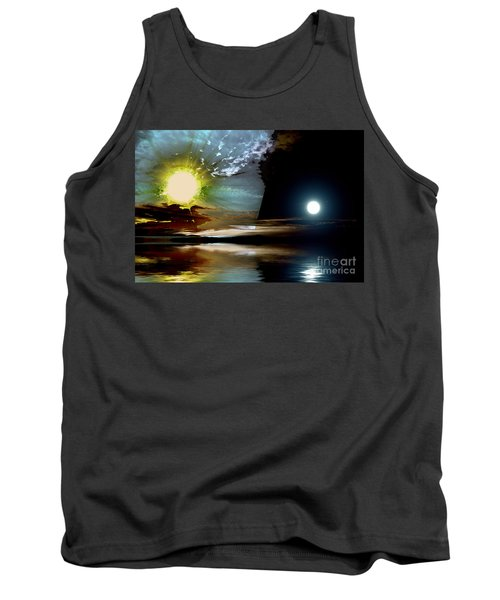Welcome Beach Day And Night Tank Top