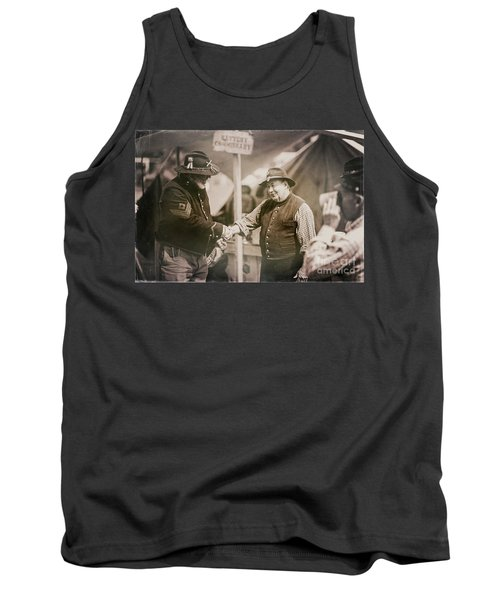 Welcome Doctor Tank Top by Randall Cogle