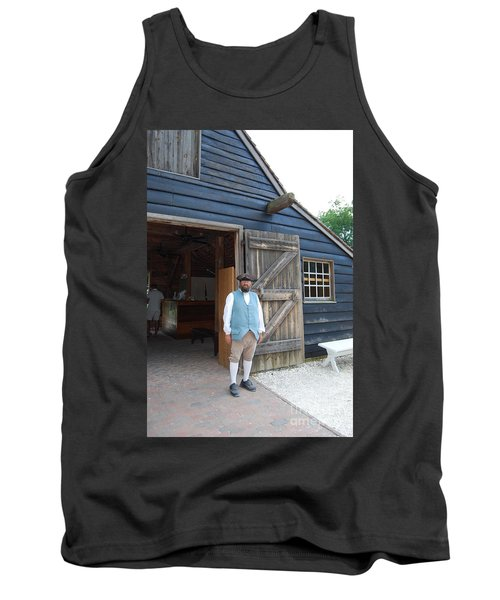 Tank Top featuring the photograph Welcome by Eric Liller