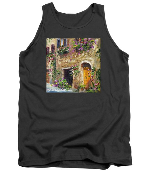 Welcome Home Tank Top by Jennifer Beaudet