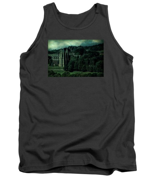 Tank Top featuring the photograph Welcome To Wizardry School by Chris Lord