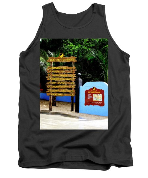 Welcome To Labadee Tank Top by Shelley Neff