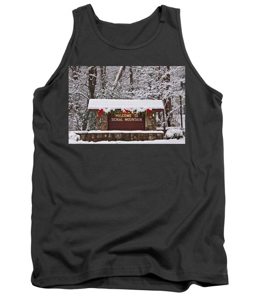 Welcome To Signal Mountain Tank Top