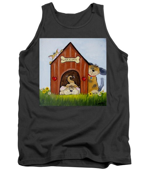 Welcome To The Doghouse Tank Top