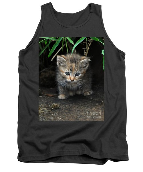 Welcome To The Jungle Tank Top by Eric Liller