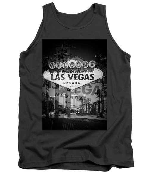 Welcome To Vegas Xiv Tank Top