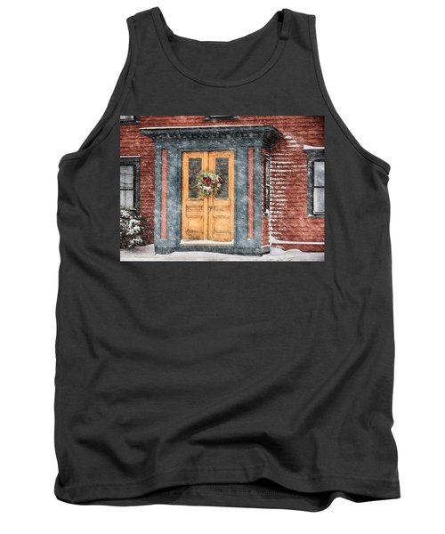 Welcome Tank Top by Tricia Marchlik