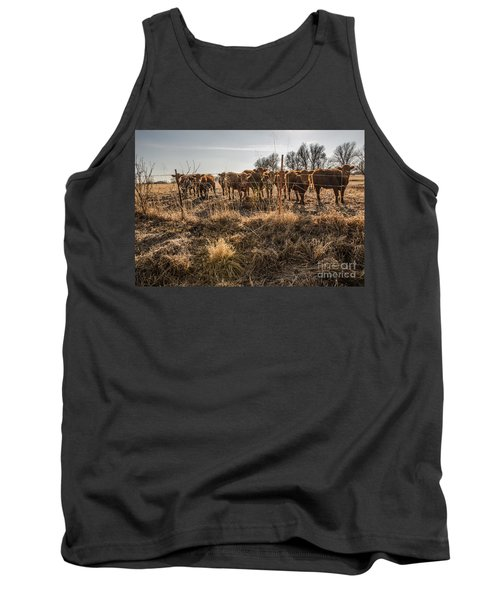 Tank Top featuring the photograph Welcoming Committee by Sue Smith