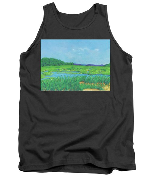 Wellfleet Wetlands Tank Top