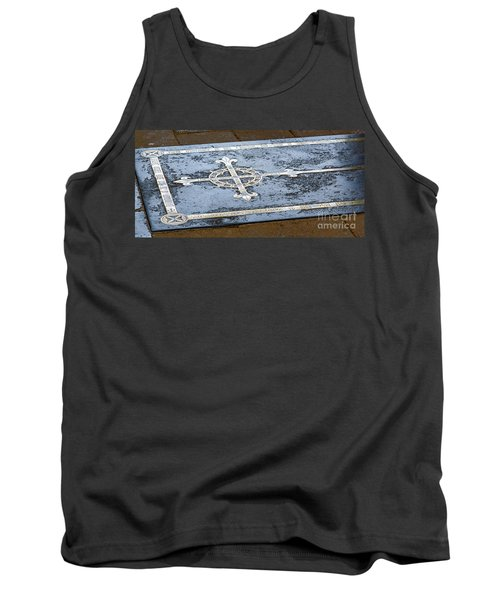 Tank Top featuring the photograph Wells Cathedral Tomb by Colin Rayner