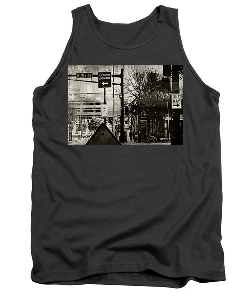 Tank Top featuring the photograph West 7th Street by Susan Stone