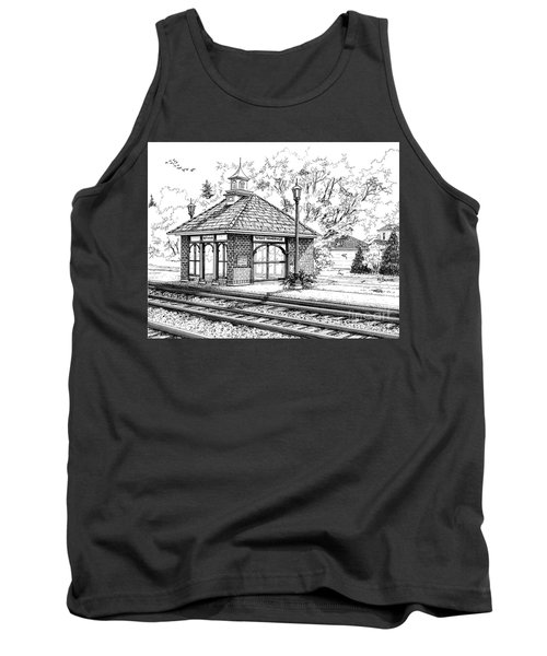 West Hinsdale Train Station Tank Top