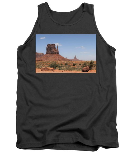 West Mitten Butte Monument Valley Tank Top