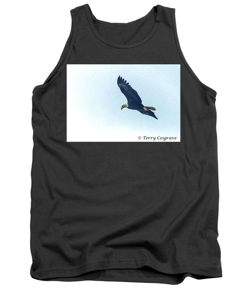 Tank Top featuring the photograph West Point American Eagle. by Terry Cosgrave