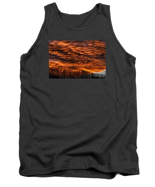 West Virginia Afterglow Tank Top