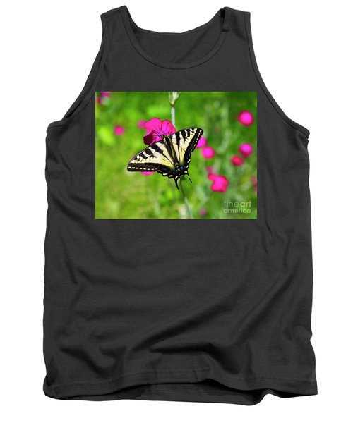Western Tiger Swallowtail Butterfly Tank Top