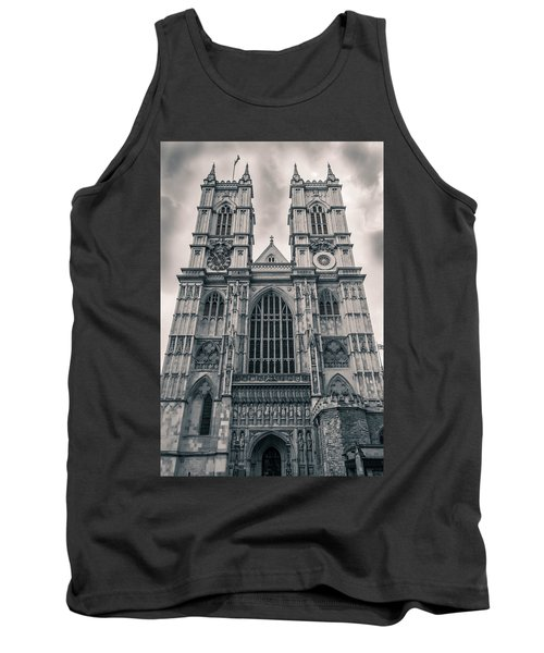Westminister Abbey Bw Tank Top
