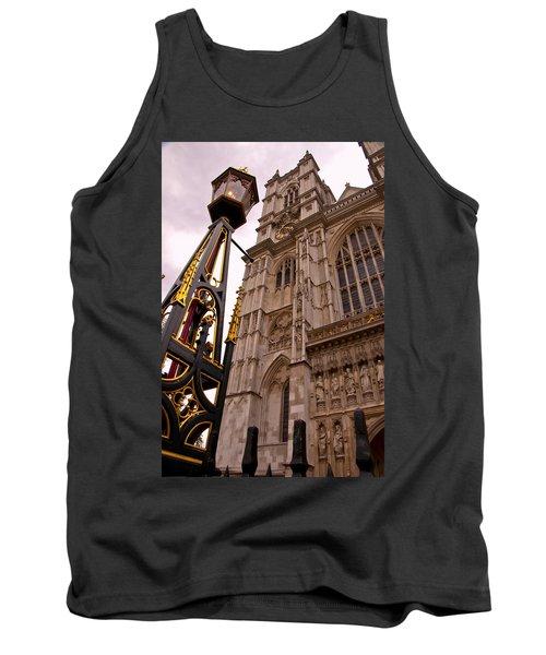 Westminster Abbey London England Tank Top by Jon Berghoff