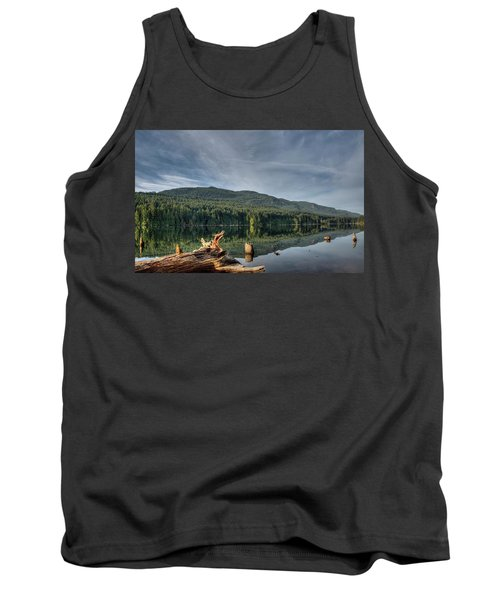 Tank Top featuring the photograph Westwood Lake by Randy Hall