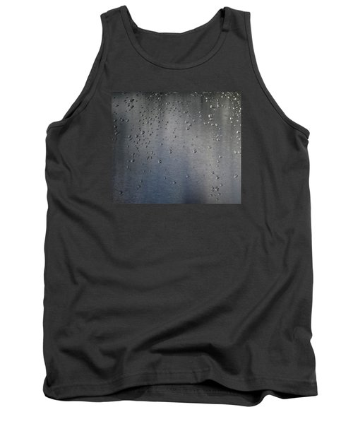 Tank Top featuring the photograph Wet Stainless Steel by Lyle Crump