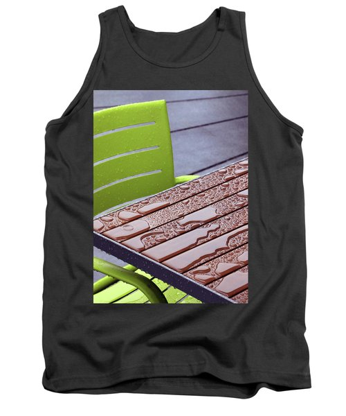 Wet Table Tank Top by Christopher McKenzie