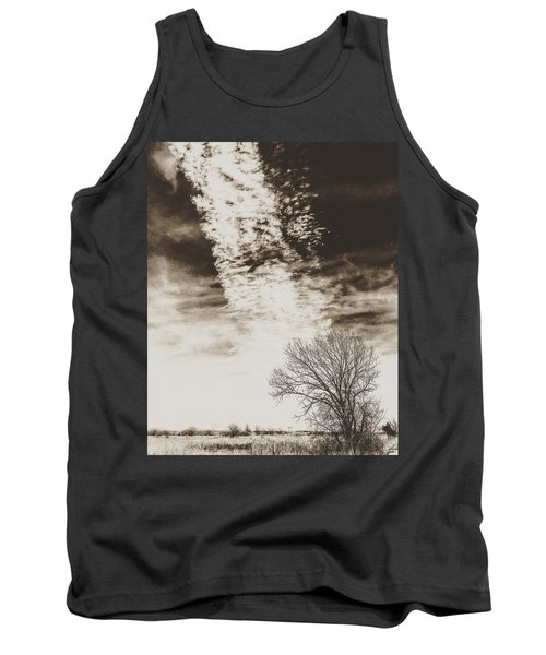 Wetlands Meet Chemtrails Tank Top