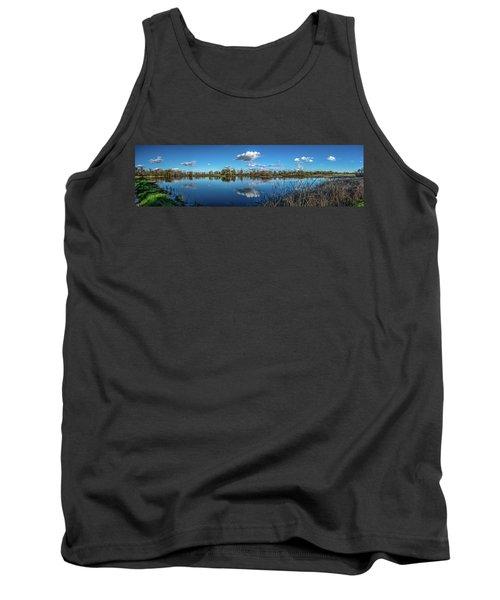 Wetlands Panorama  Tank Top