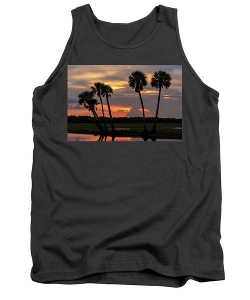 Wetlands Sunset Tank Top