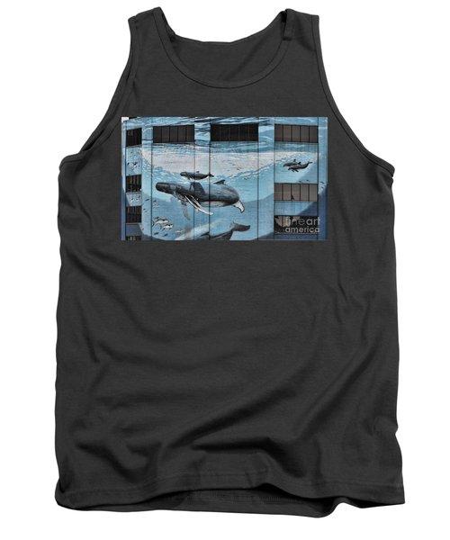 Whale Deco Building  Tank Top