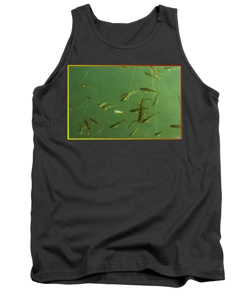 What A Line Tank Top