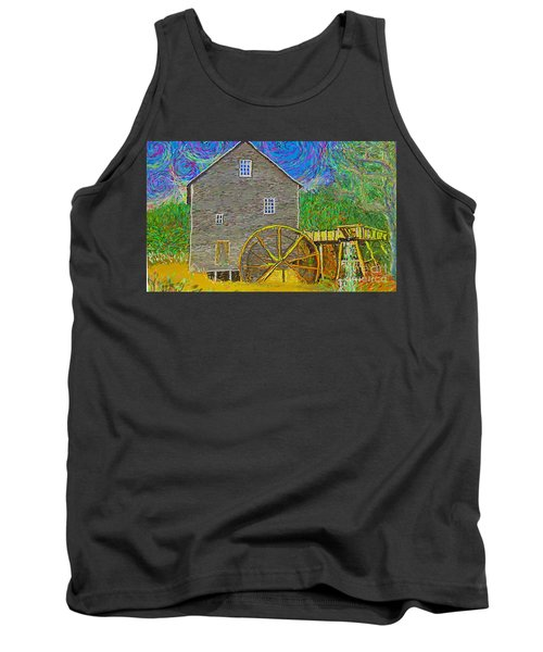 Water Wheel  Tank Top