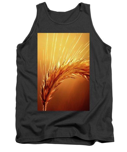 Wheat Close-up Tank Top