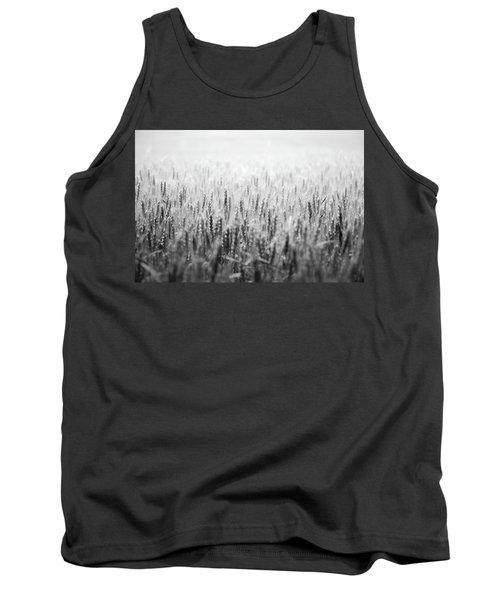 Wheat Field Tank Top by Peter Scott