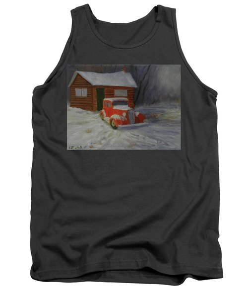 When Cars Were Big And Homes Were Small Tank Top