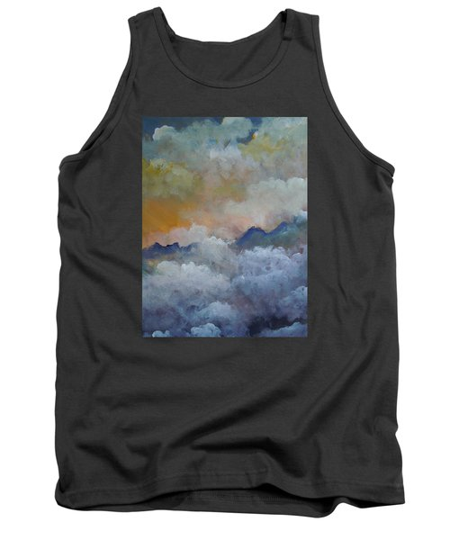 When I Consider Your Heavens Psalm 8 Tank Top by Dan Whittemore
