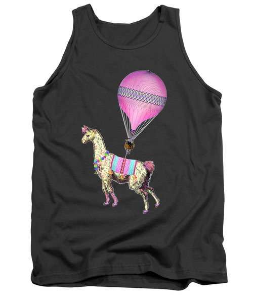 Flying Llama Tank Top