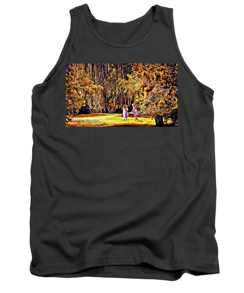 Tank Top featuring the photograph When We Were Young... by Barbara Dudley