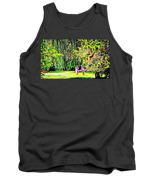 Tank Top featuring the photograph When We Were Young II by Barbara Dudley